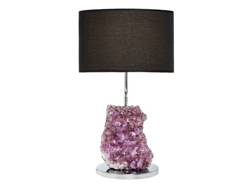Cielo Amethyst Lamp