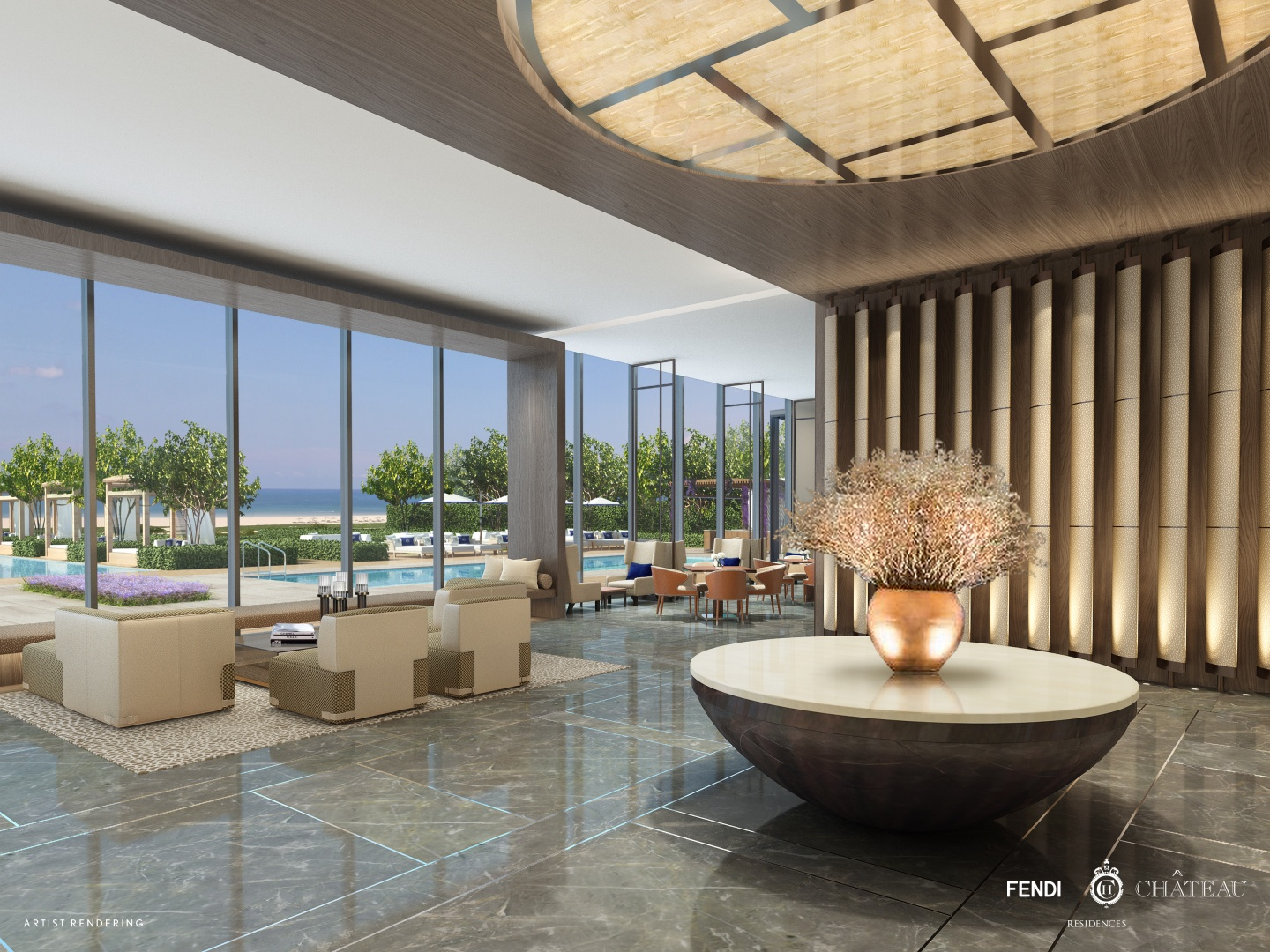 Fendi Chateau Residences Renderings
