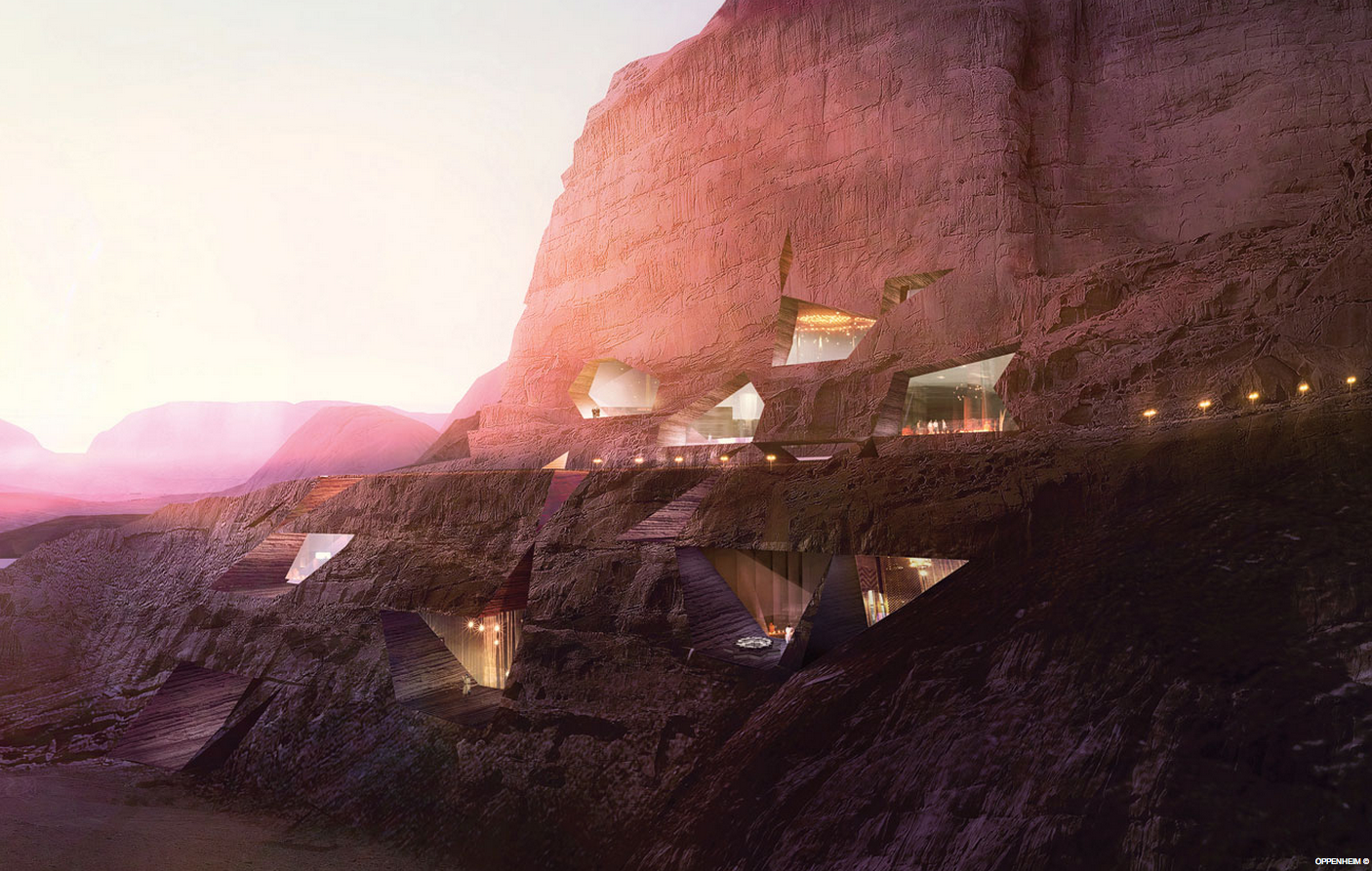 Wudi Rum Desert Resort – Wadi Rum, Jordan – Oppenheim Architecture and Design