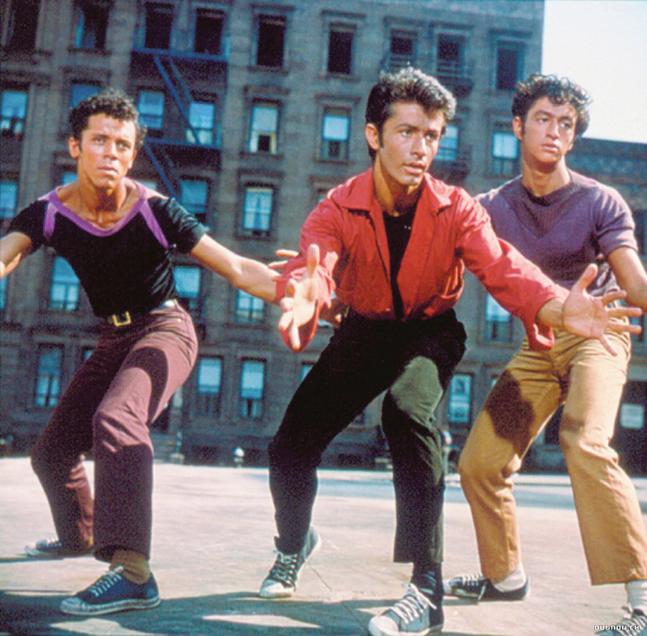 West Side Story's film location was replaced by Lincoln Center.