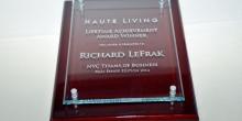 Haute Living Lifetime Achievement Award Winner Richard LeFrak