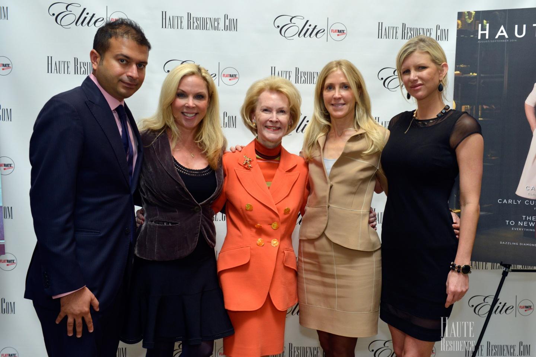 Kamal Hotchandani, Wendy Maitland, Elizabeth Stribling, Leslie Wilson, and April Irene Donelson
