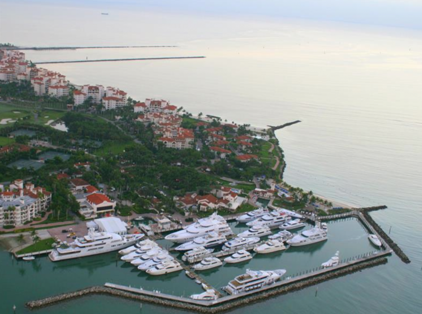 Fisher Island is an ideal location for boaters and yacht enthusiasts.