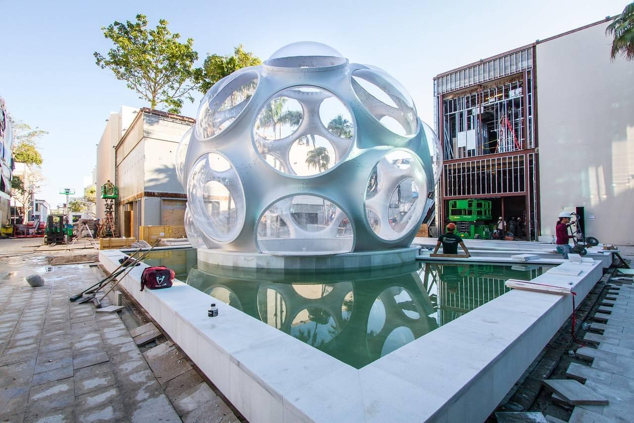 Richard Buckminster Fuller S Iconic Fly S Eye Dome Lands