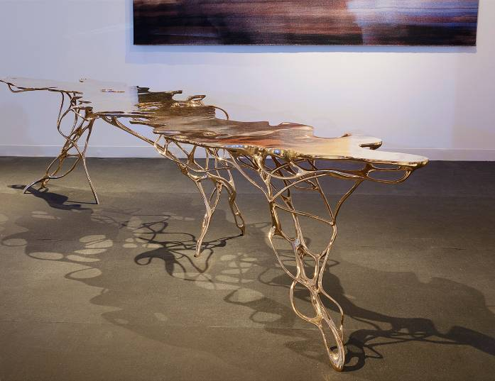 Growth Table by Mathias Bengtsson from Galerie Maria Wettergren