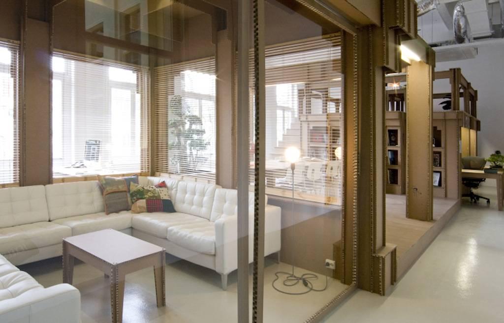 Joost Van Bleiswijk Nothing Cardboard Office