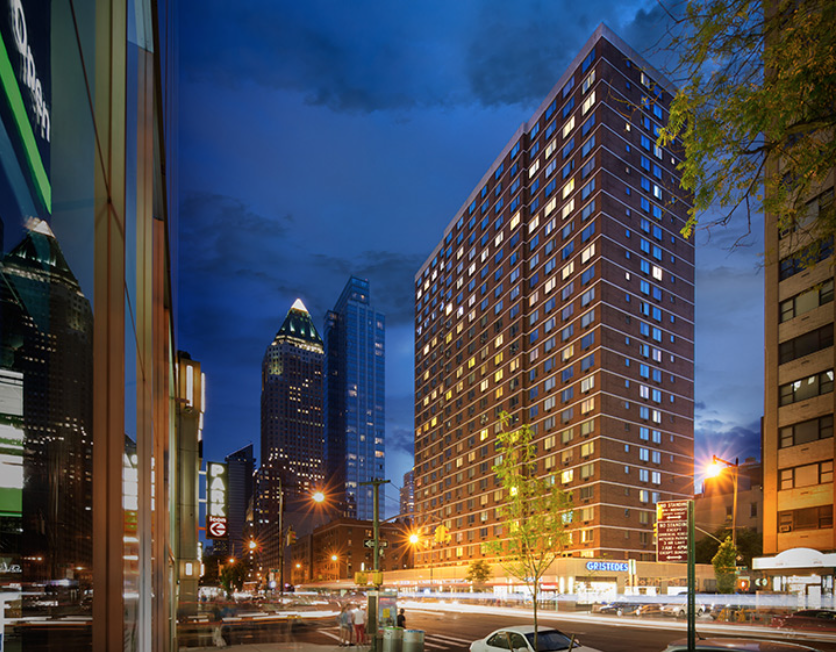 The 25-story condominium offers one-to-three bedroom units ranging from $1.1 million to $3.25 million
