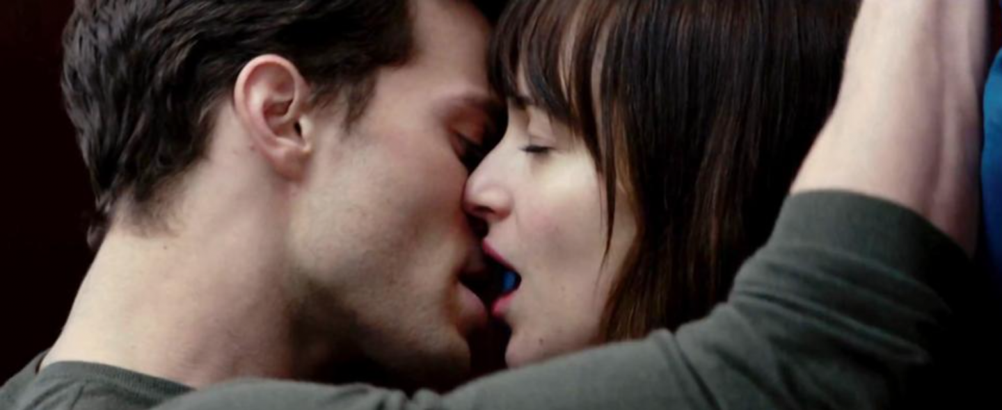 The feature film, Fifty Shades of Grey, opens on Valentine's Day.