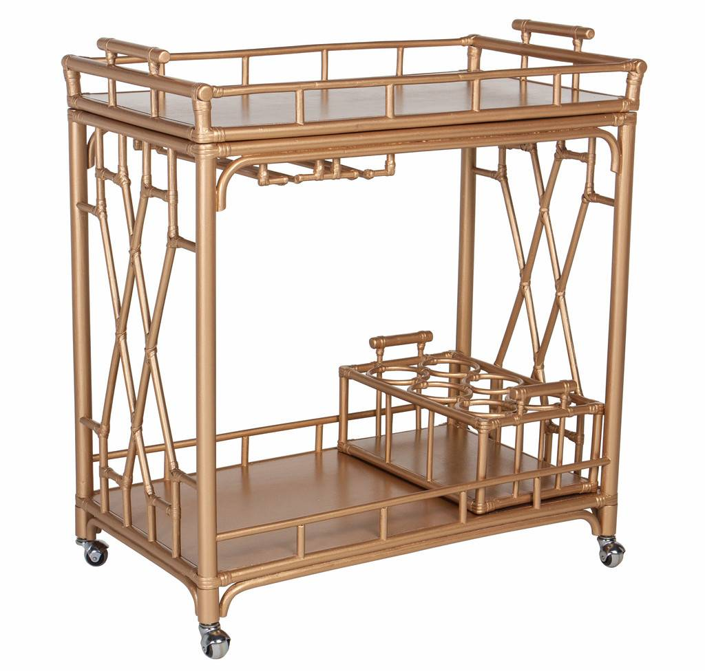 serve cocktails in style with one of these six luxury bar carts. Black Bedroom Furniture Sets. Home Design Ideas