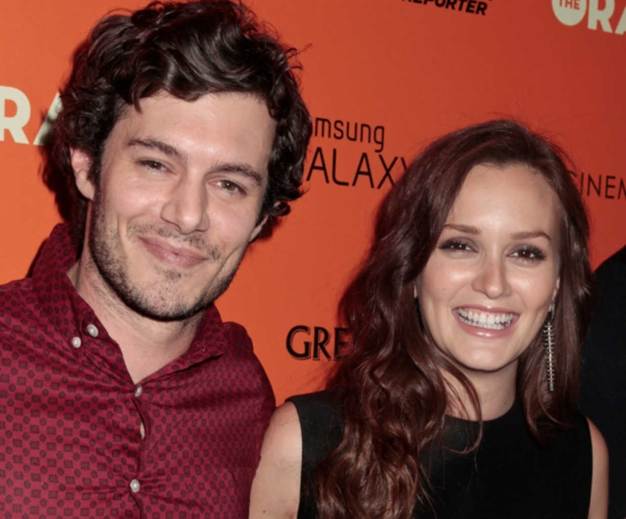 Newlyweds Adam Brody and Leighton Meester