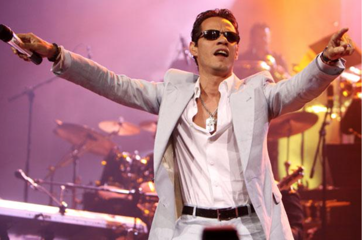 Marc Anthony was Artist of the Year at the 2014 Billboard Latin Music Awards.