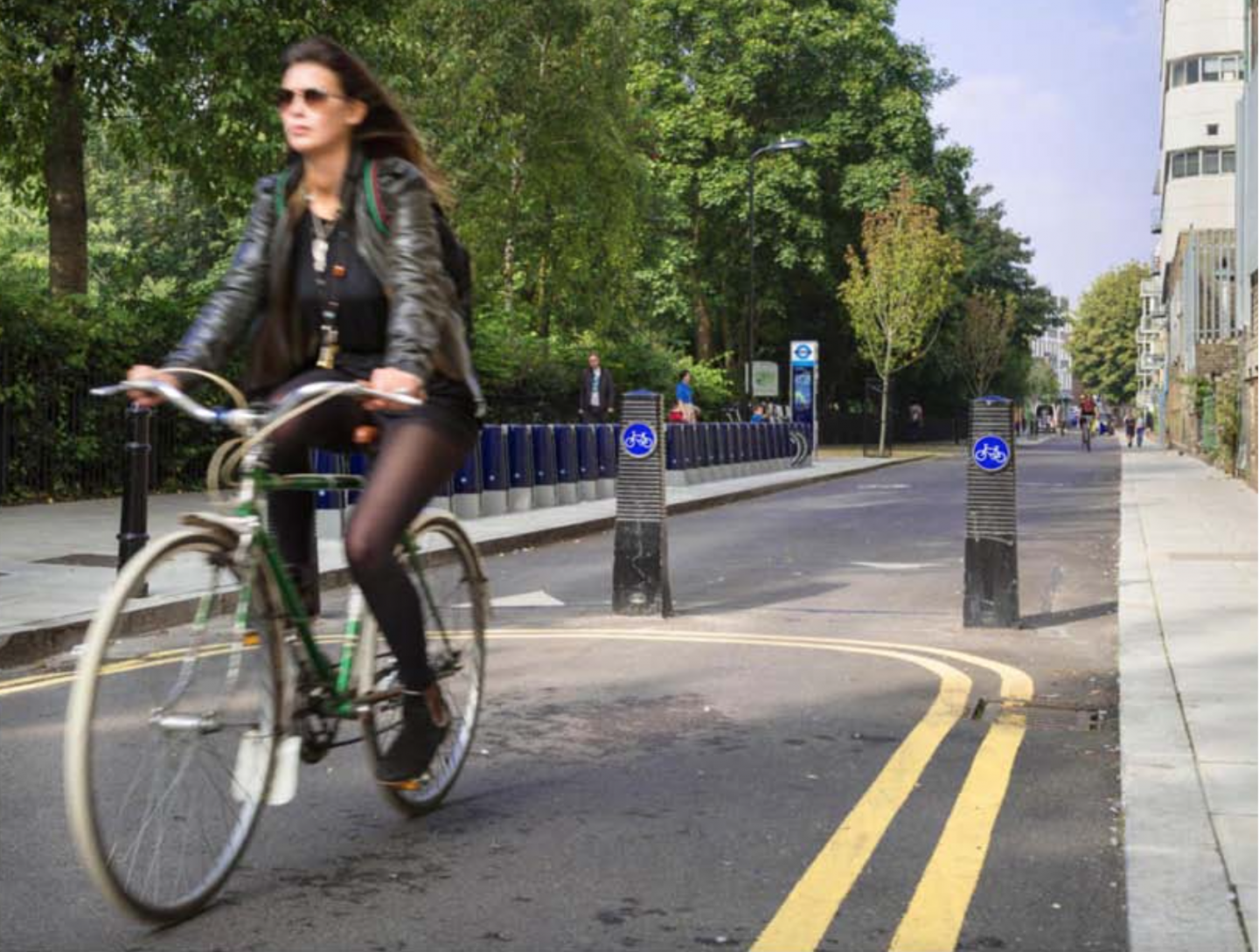 New building guidelines are Mayor Boris Johnson's initiative to make London a cyclized city.