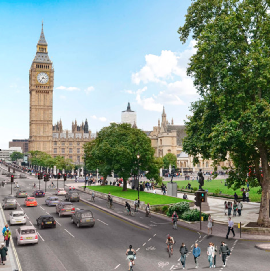 London Mayor Boris Johnson approved a plan to create Europe's longest segregated cycle lane through the city.