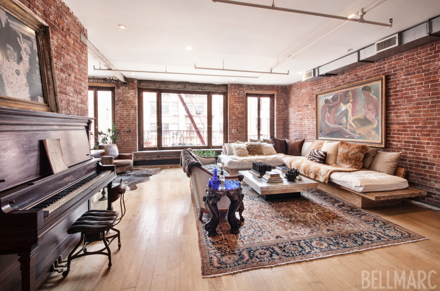 Singer-songwriter Vanessa Carlton's has been out of the limelight for years and now she is out of her SoHo loft which is for rent for $17,500 per month.