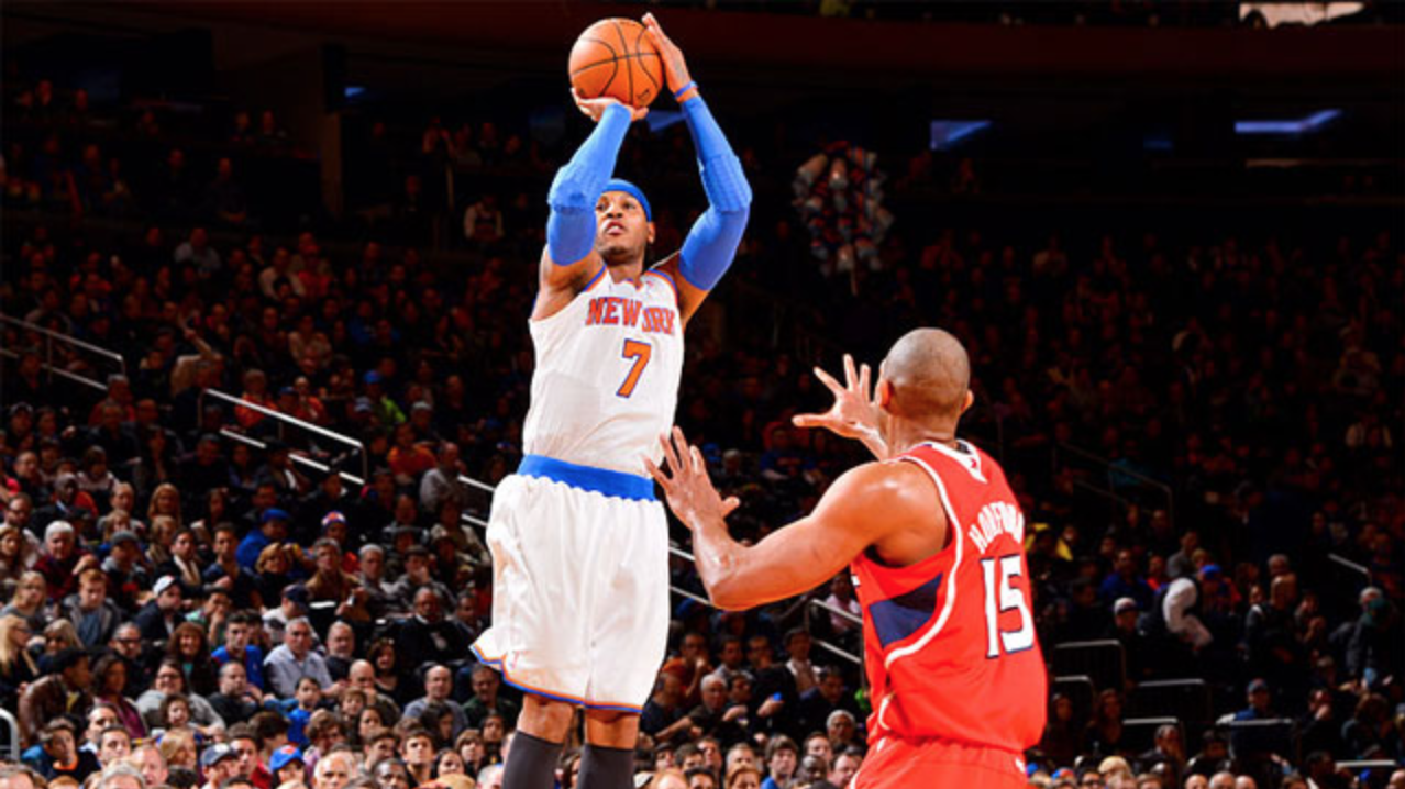 Carmelo Anthony's $124 million guaranteed contract  will pay for his new West Chelsea home.
