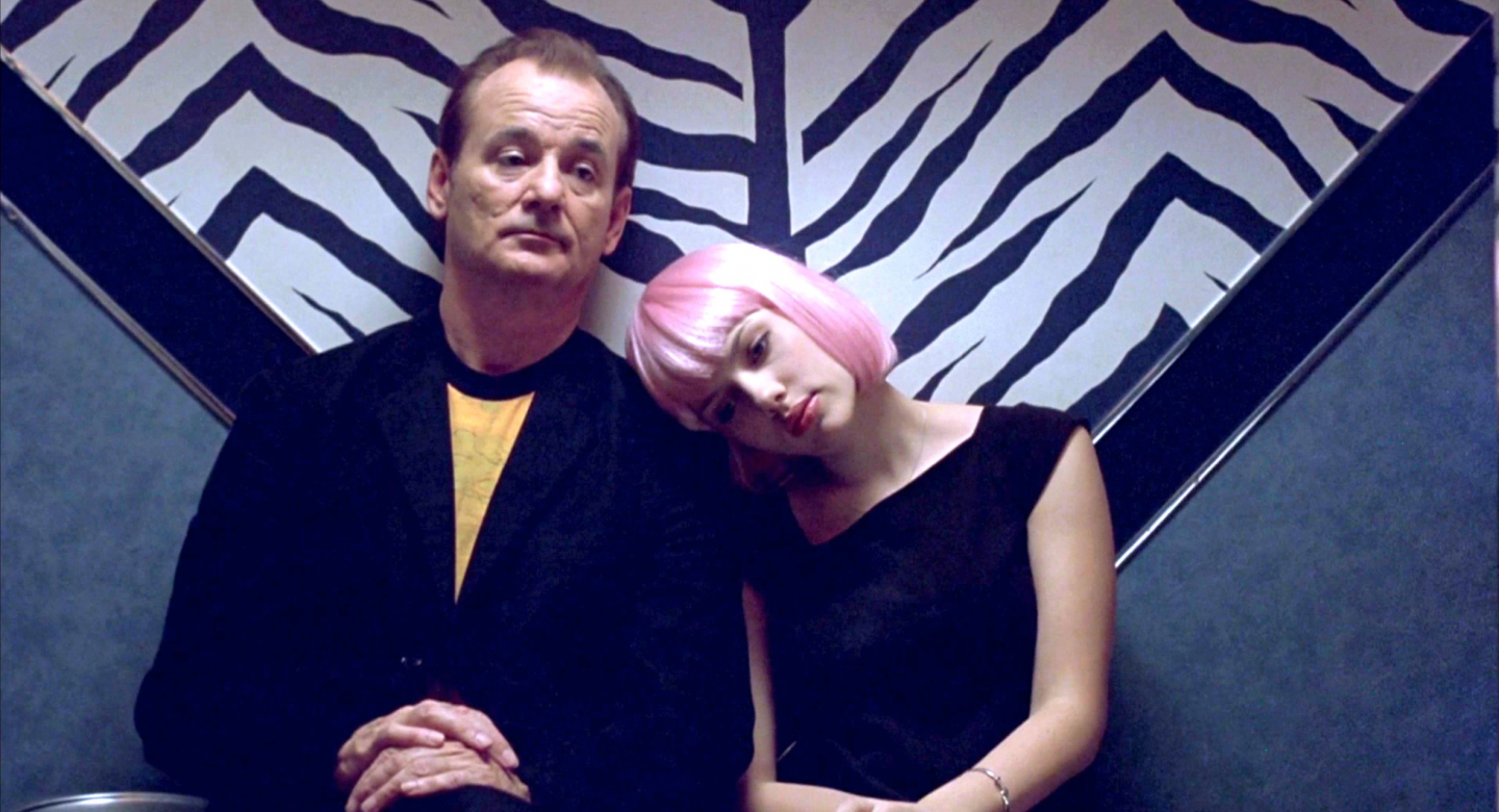 Bill Murray and Johansson in Lost in Translation