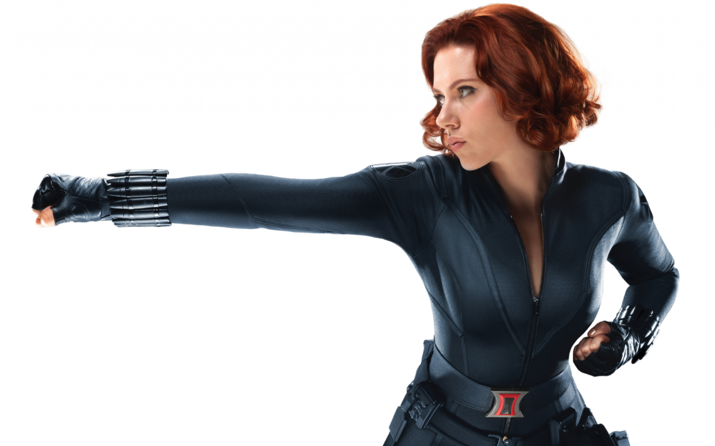 Scarlett Johansson in The Avengers