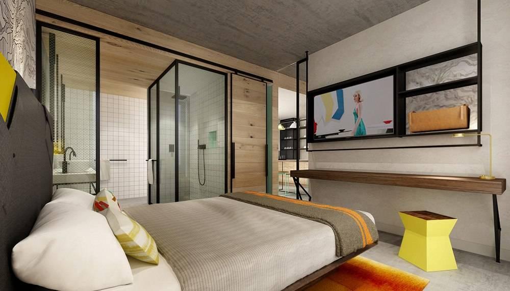 Hyde Hotel Guestroom