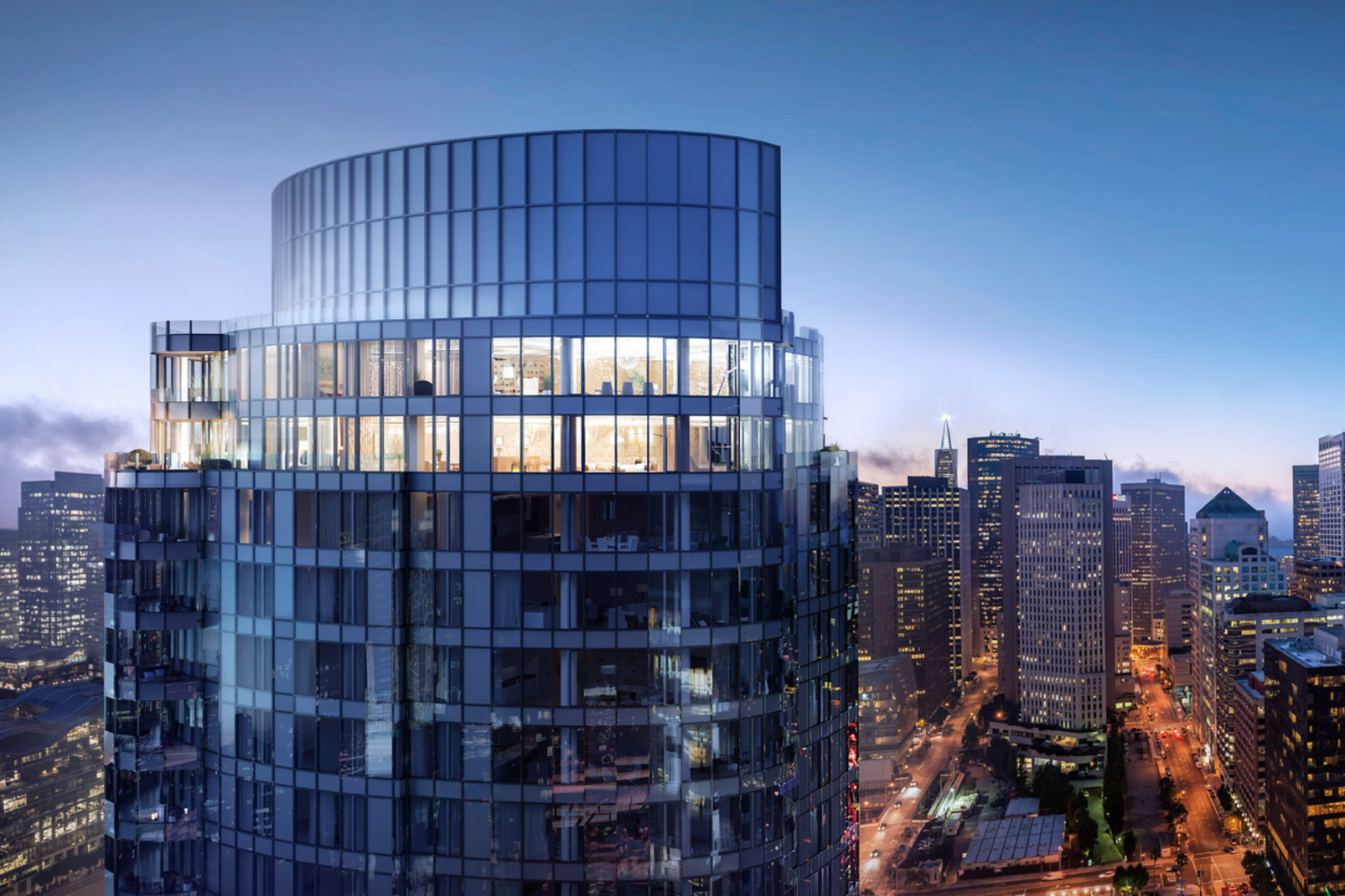 Lumina will occupy the 41st and 42nd floors. It is generating healthy sales and interest from tech executives.