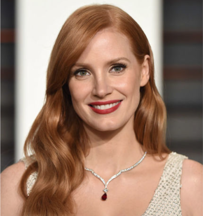 Two-time Oscar nominee Jessica Chastain