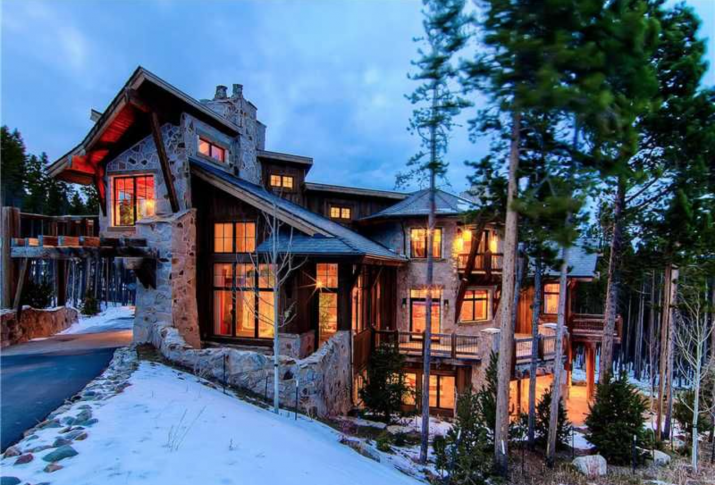Breckenridge's first Net Zero-designed luxury ski home is energy efficient and boasts three master suites and three mini-master suites.