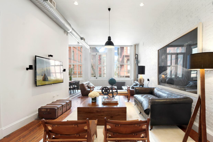 The 2,000-square-foot full-floor loft is on the market for $3.5 million, $300,000 less than its first listing.