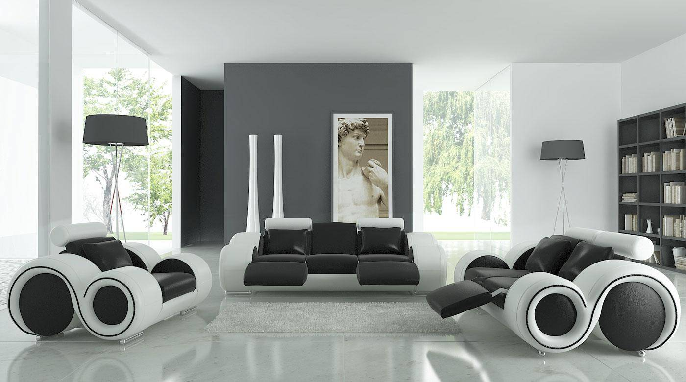 Up Your Decor Drama With These 6 Black And White Furniture