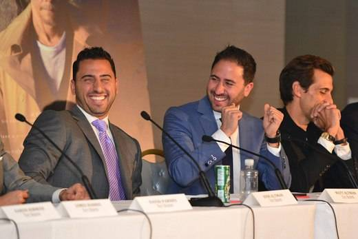 Josh Altman, Matt Altman, and Madison Hildebrand