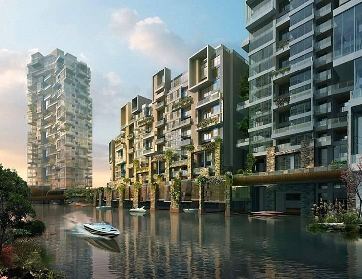 High Rise Living Meets Nature In 5 Design S Krystal Laputa Project