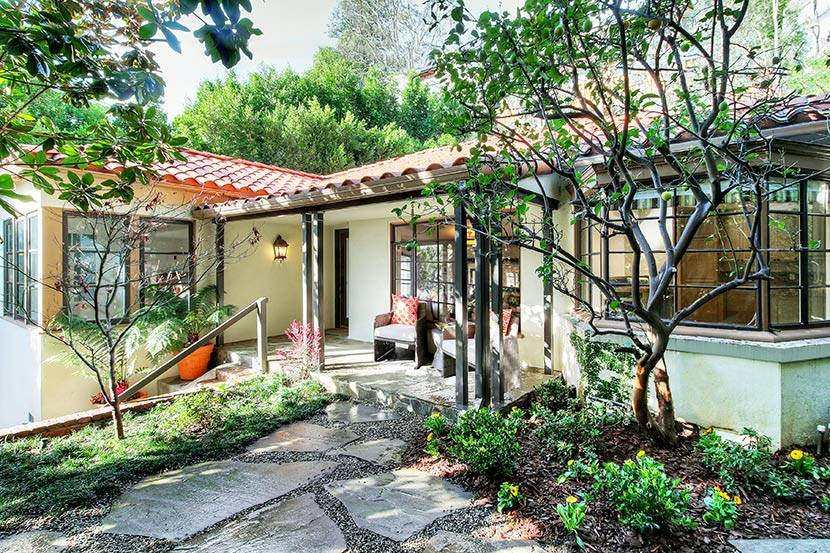 Topher Grace - West Hollywood Home