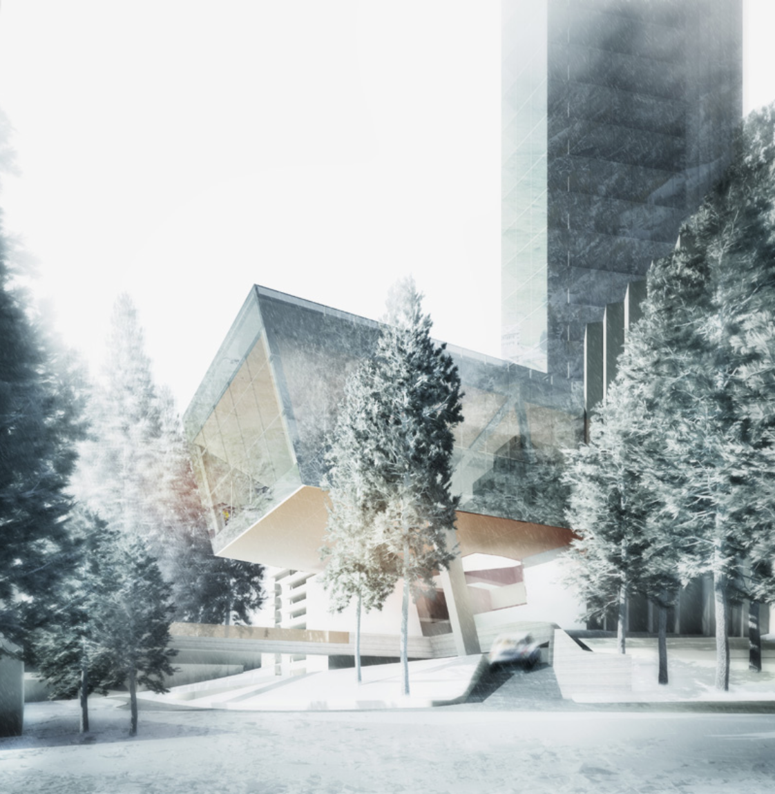 The hotel is the third wing of the 7132 project which also includes The Therme Vals spa and the Valser Path.