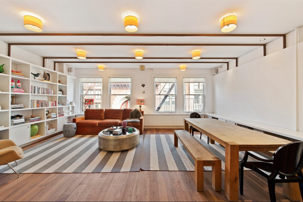 The nearly 2,300-square-foot loft was purchased for $3.2 million
