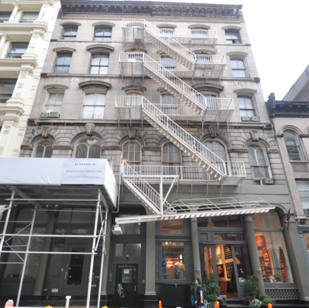 Owners of this eight-unit  Tribeca building intend to convert it to a seven-story, 20,000-square-foot mega mansion that will be sold for an estimated $65 million.