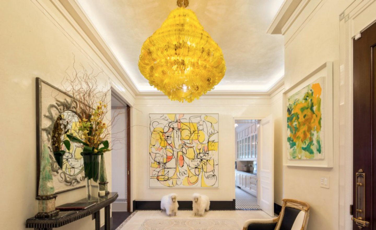 Frank Lloyd Wright's apartment 409 at The Plaza, listed for $39.5 million