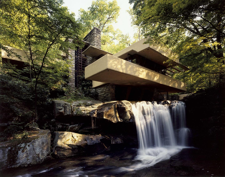 Fallingwater Kaufmann estate at Mill Run, near Pittsburgh, Pennsylvania