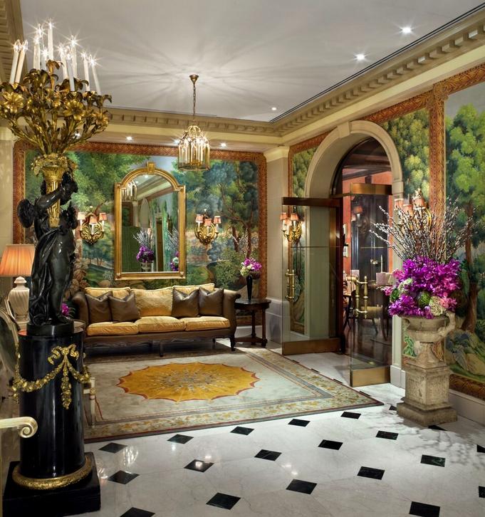 Spa Valmont Lobby