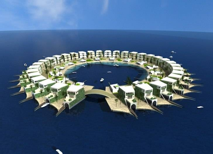 Dutch Firm Asserts Floating Islands Will Save Sinking World