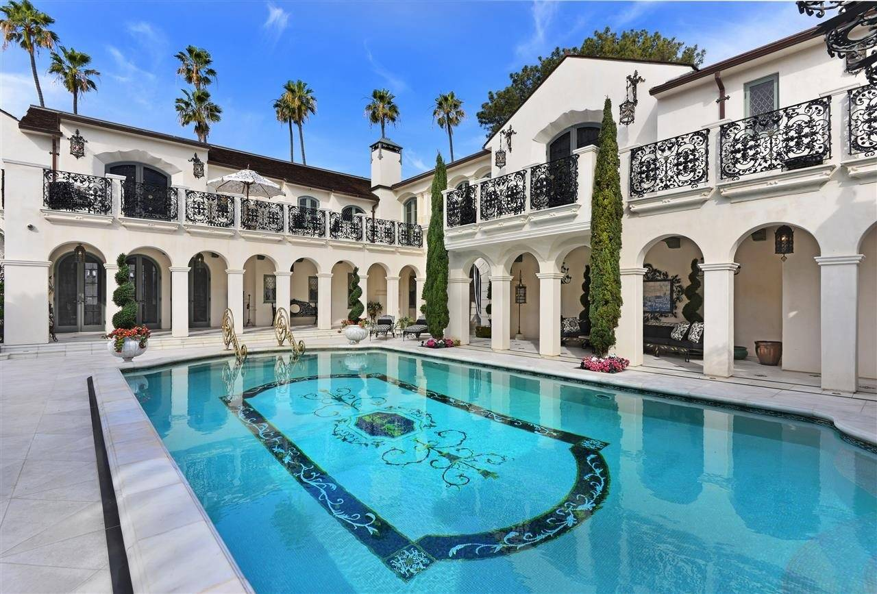 5 luxurious mediterranean style homes for sale in california for California million dollar homes