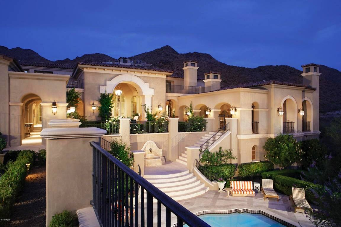 5 magnificent mediterranean style homes for sale for Castle style homes for sale