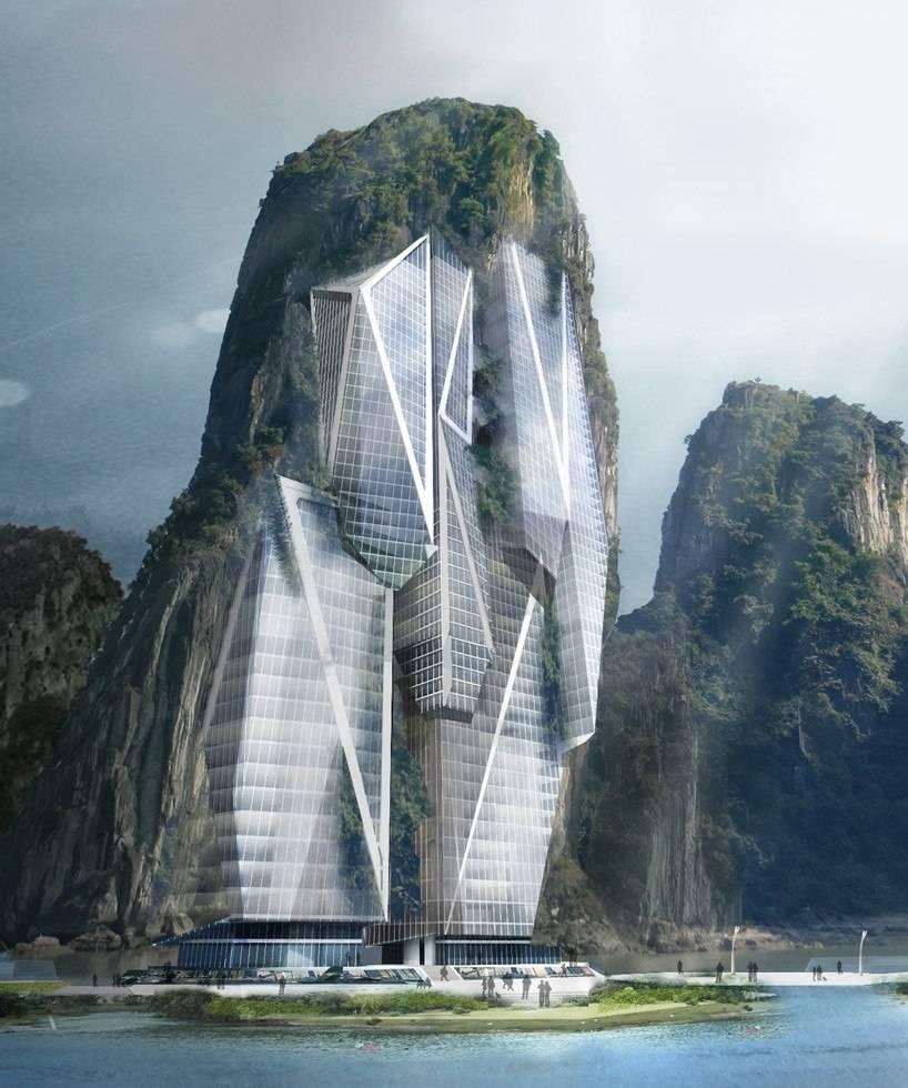 The architecture is de...