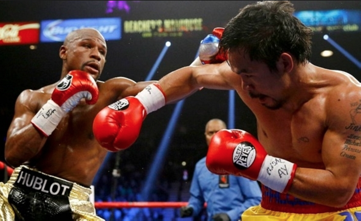 Under intense scrutiny, Floyd Mayweather Jr. defeated Manny Pacquiao and reportedly pocketed more than $100 million.