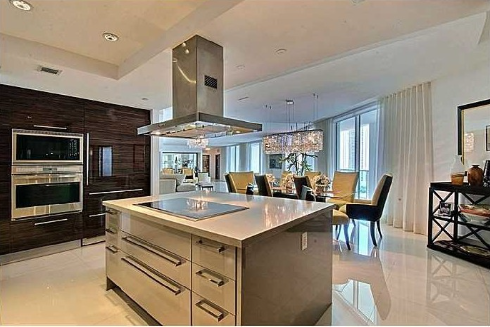 Mayweather's high end kitchen is proof he desires the finer things in life.