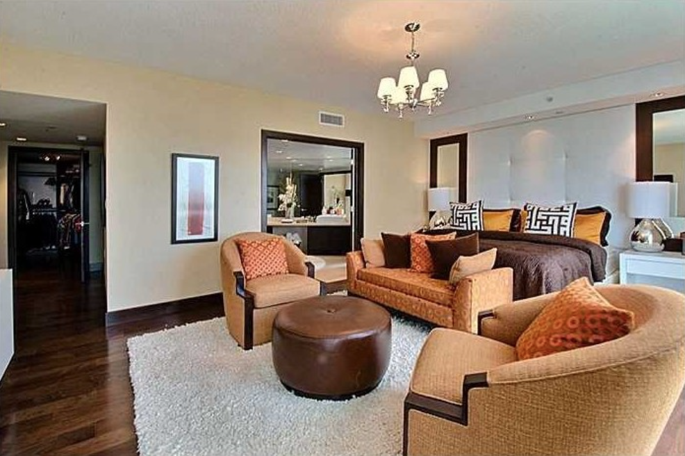 The condo in the prestigious Sunny Isles Beach is listed for nearly $2 million.