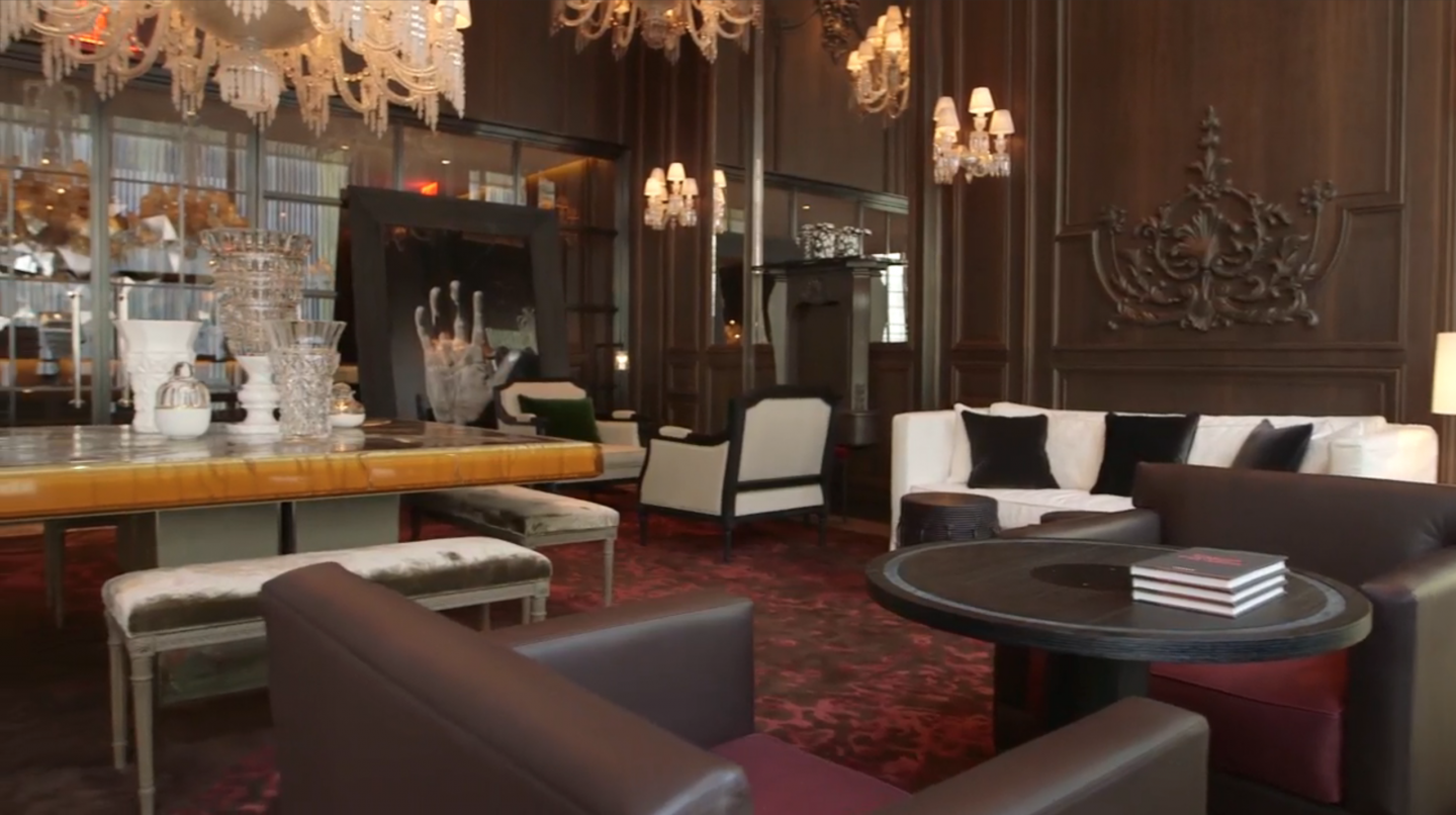 Paris-based Gilles & Boissier created the furniture for the hotel.