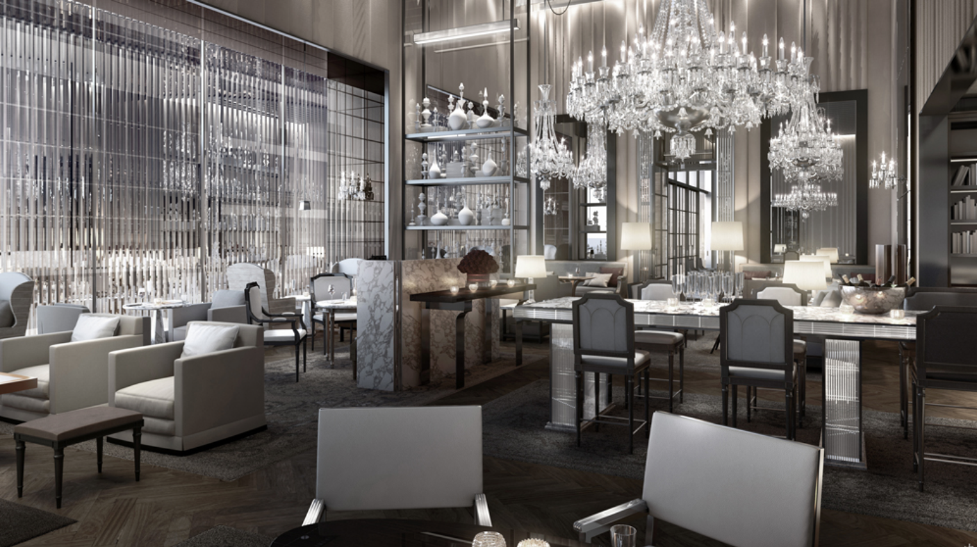 The New York flagship hotel is Baccarat's first foray into hospitality. Next up: Morocco.