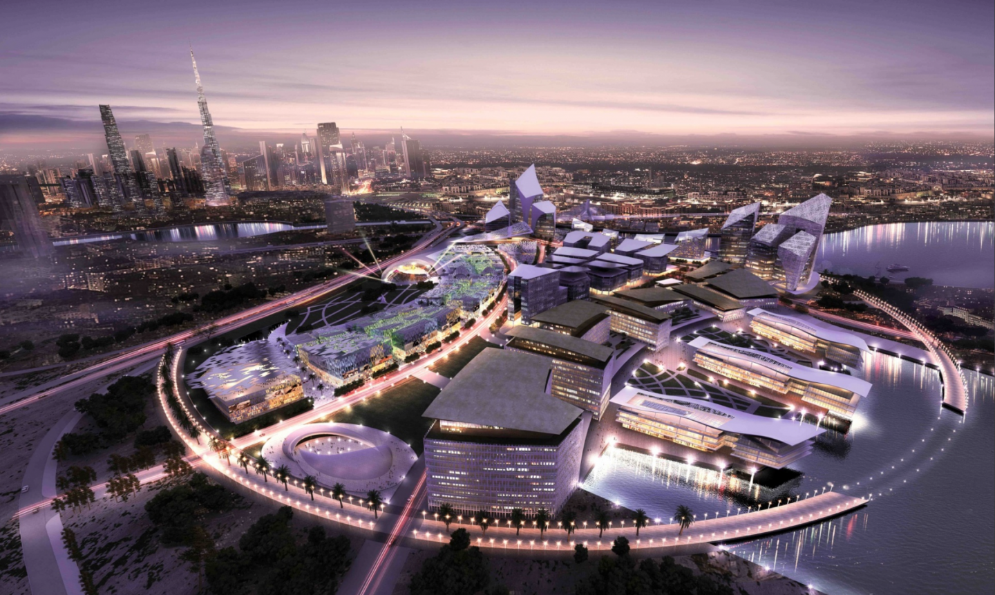Artist rendering of the Dubai Design District