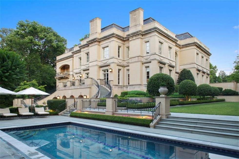 5 luxury homes for sale featuring d c 39 s most expensive for Most expensive house for sale