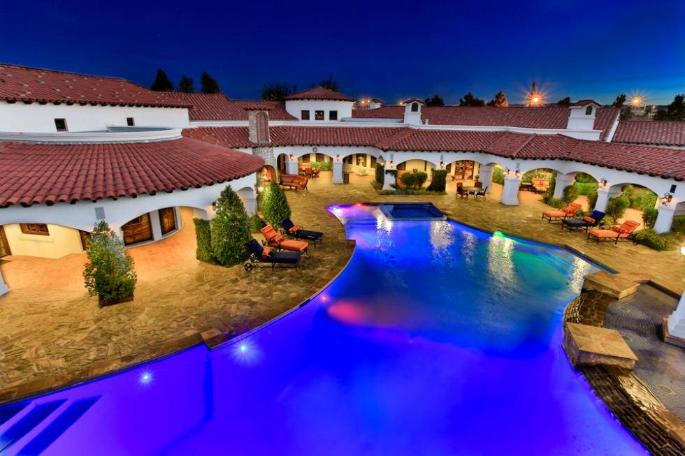 5 eye popping luxury estates for sale featuring las vegas for Las vegas estates for sale