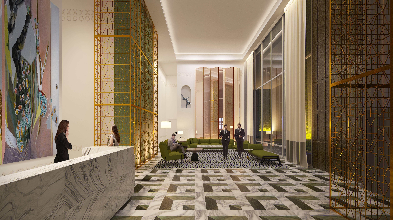 Residential Lobby SLS LUX Brickell