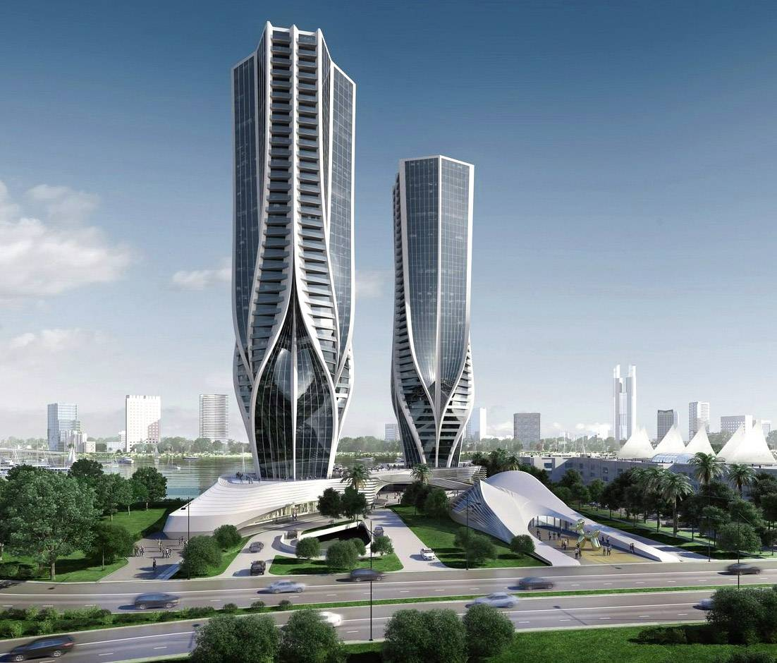 Mariners Cove Apartments: Zaha Hadid Reveals Proposed Design For Skyscraper Duo